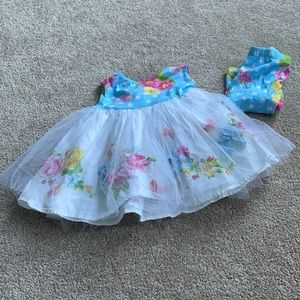 Summer dress with Tulle 12-18